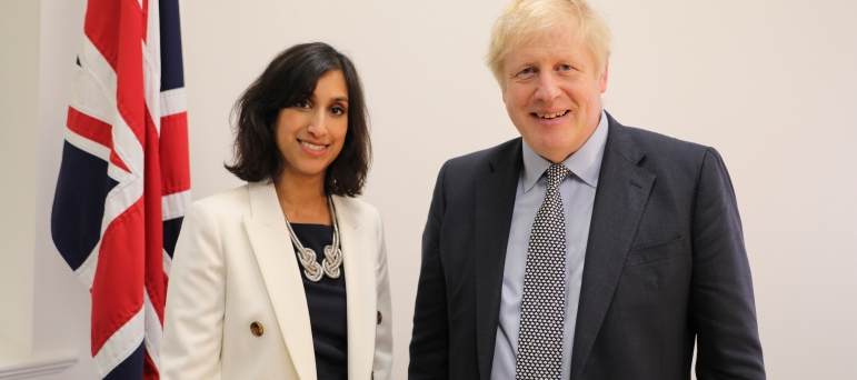 claire coutinho and boris johnson